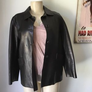 Authentic Prada Vintage Leather jacket.